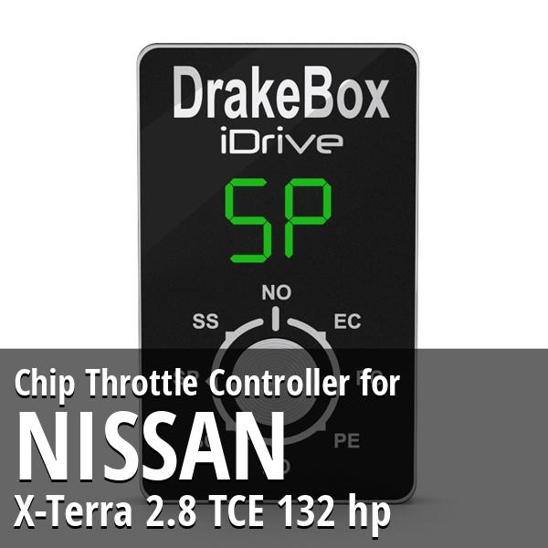 Chip Nissan X-Terra 2.8 TCE 132 hp Throttle Controller